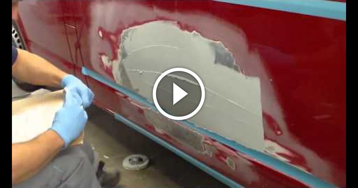 Рихтовка шпатлевка грунтовка и покраска авто своими руками